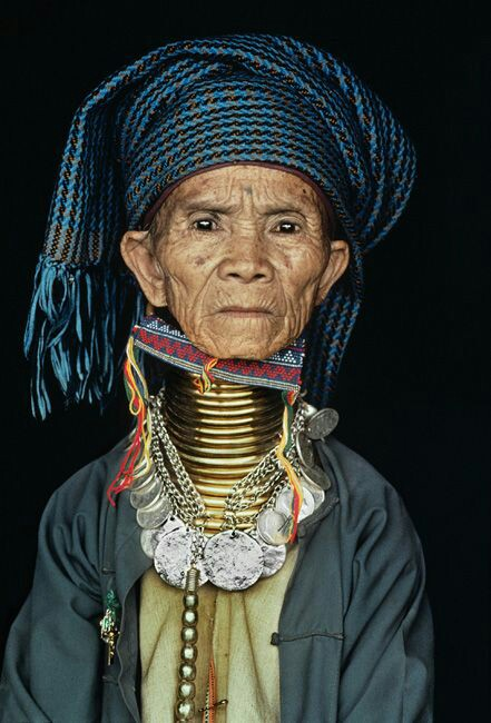 Padaung people also known as The Long Neck