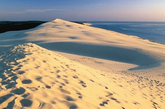 La Dune du Pyla is giant and located in France. Absolutely a must see for nature lovers and funny eco-friendly destination.