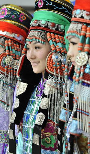 Mongolian Traditional Costumes