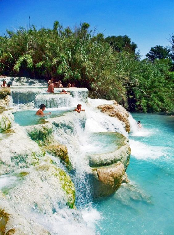Therms of Saturnia