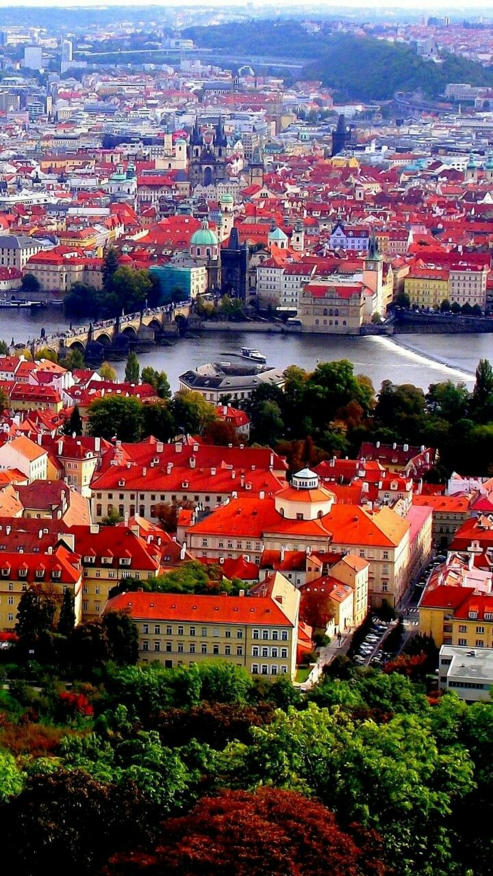 Beautiful and elegant city of Prague