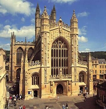 Bath Abbey in Sommerset, England
