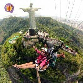 Paragligding in Rio!