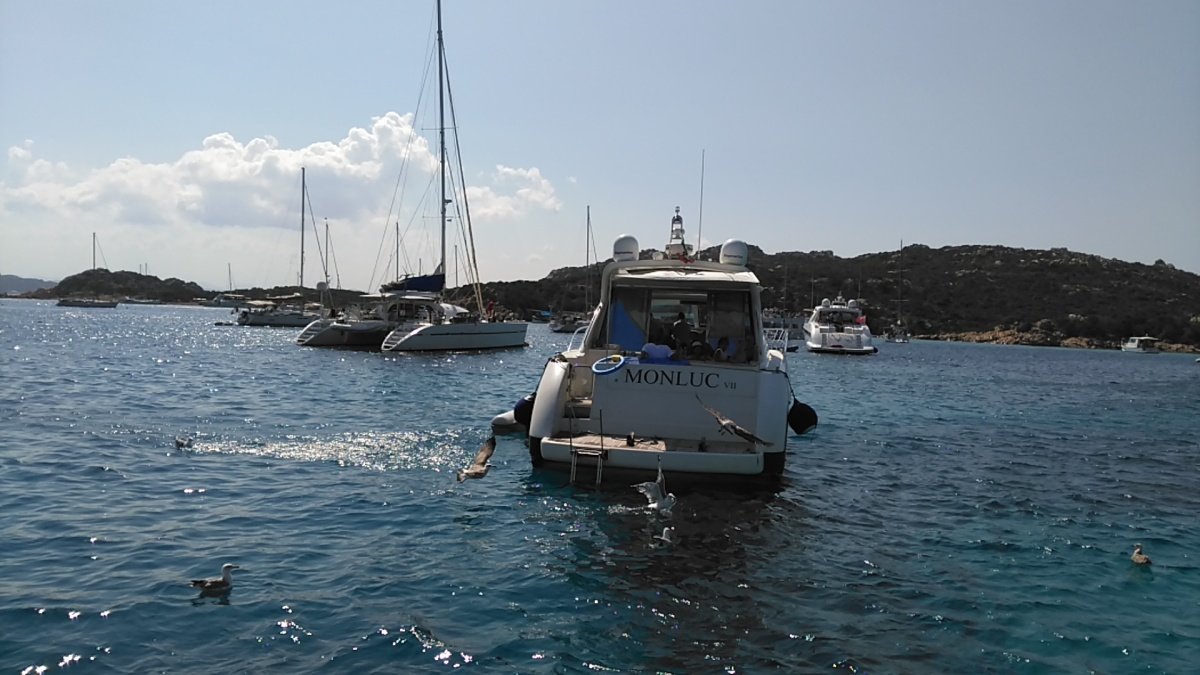 La Maddalena Archipelago (private boats available to Corsega)