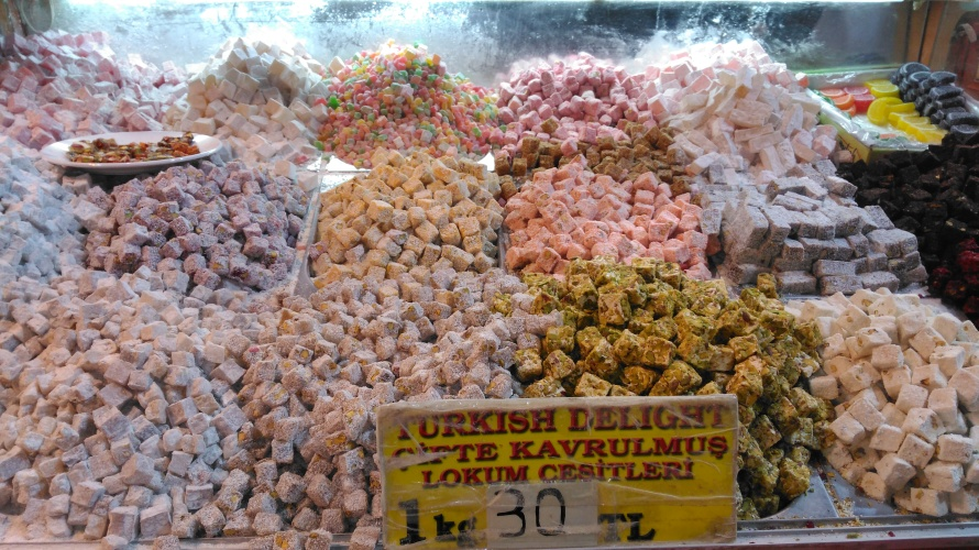 The Grand Bazaar in Istanbul and its turkish delights!