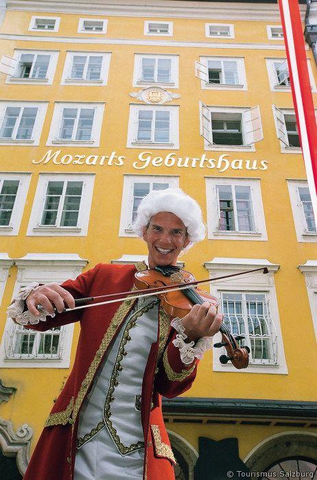 Mozarts house in Salzburg