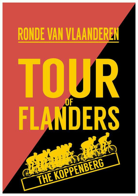 Cycling annual events classics: Tour of Flanders, Belgium