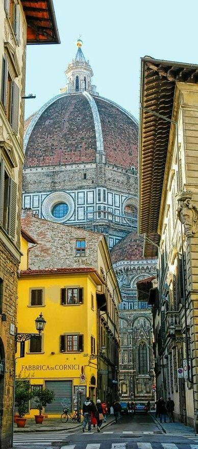 Florence, European capital of culture.