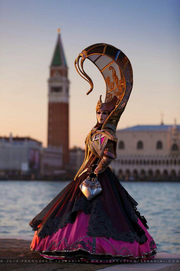The Carnival in Venice.