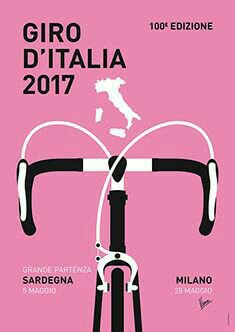 Cycling annual events major tours: Giro d'Italia (Tour of Italy)