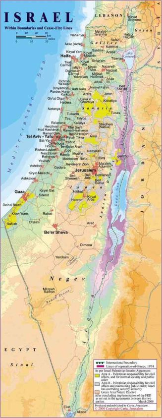 Colours of Israel