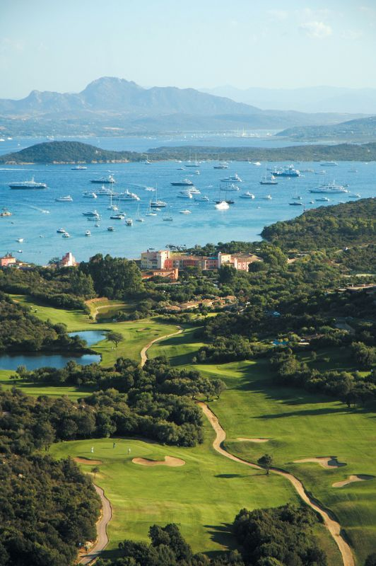 Pevero Golf Club, Sardinia, Italy