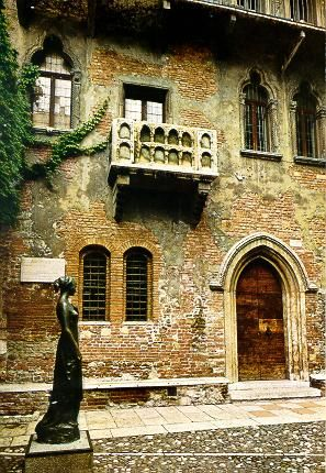 Romeo and Julieta house Verona, Italy