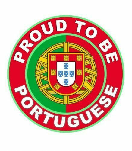 Proud to be Portuguese.