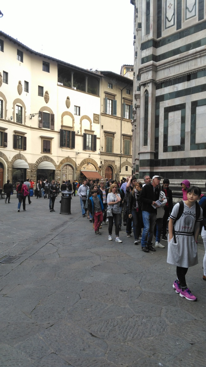 In Florence skip the line by Ana Santos