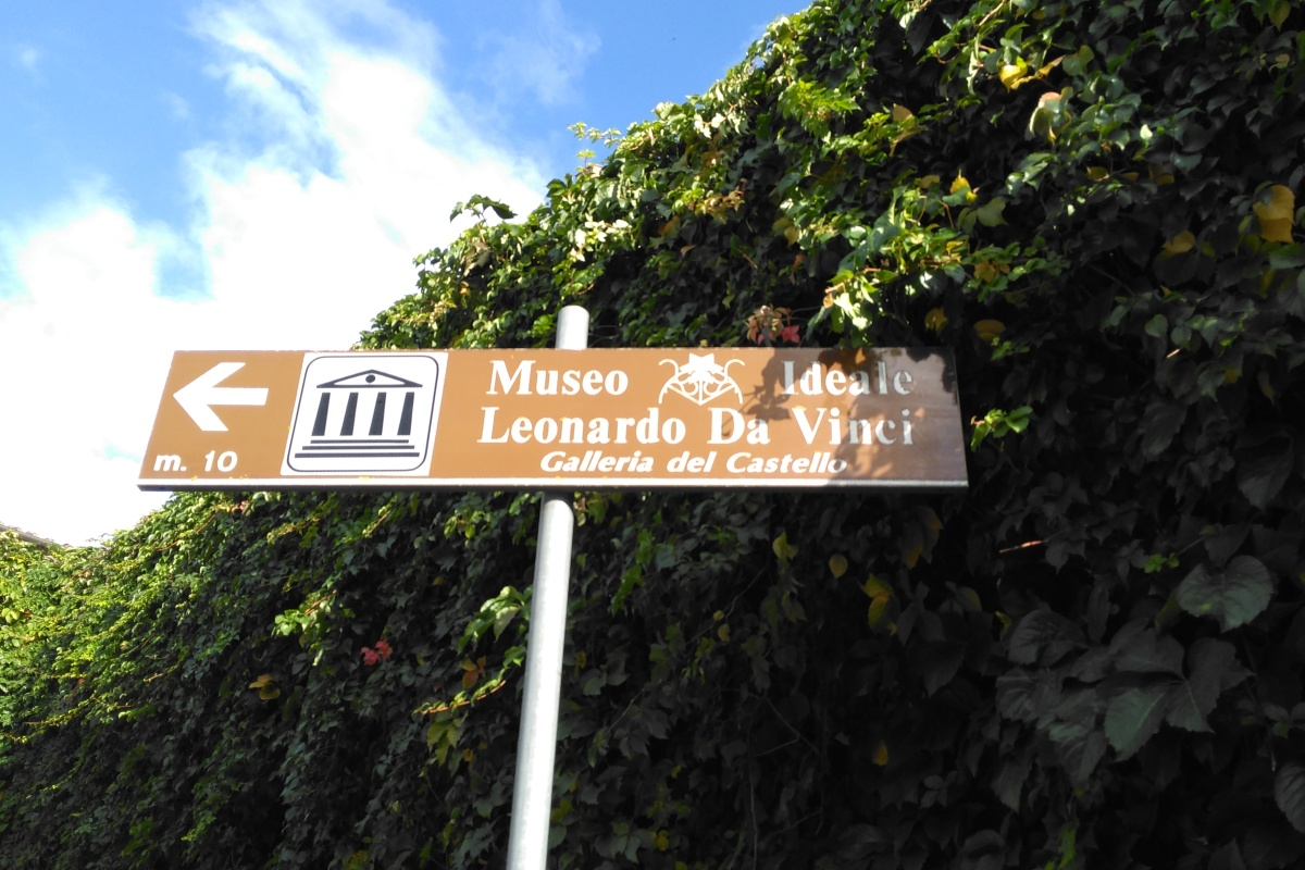 Leonardo's birth place