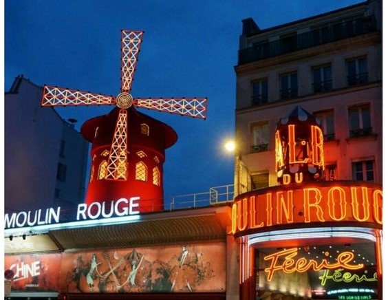 Moulin Rouge (go visit La Rue de Saint Dinis)
