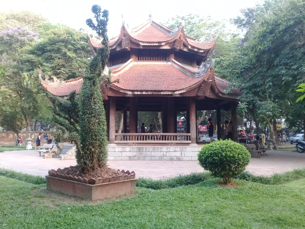 Literature museum , Hanoi Vietnam