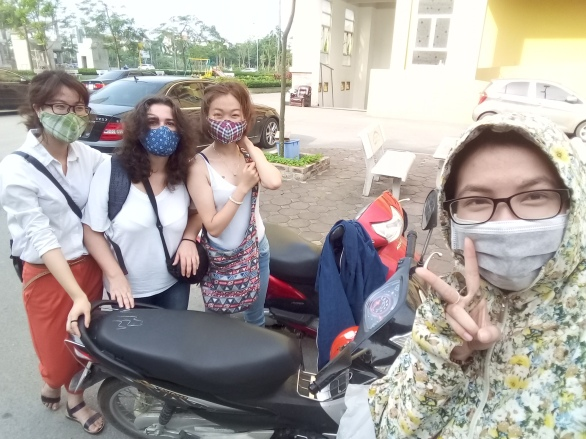 Ladies day out in Hanoi