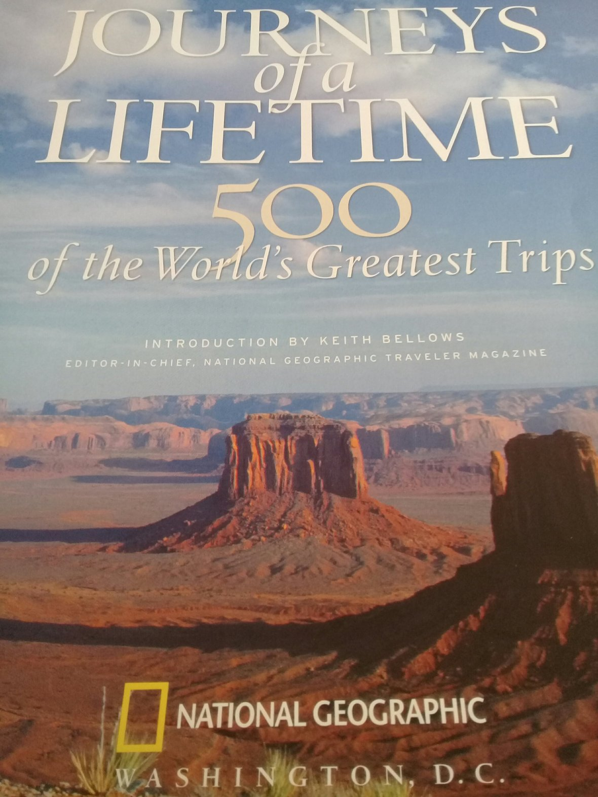 500 of the World's Greatest Trips by National Geographic