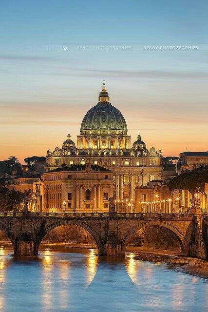 Vatican City. UNESCO World European Heritage Sites