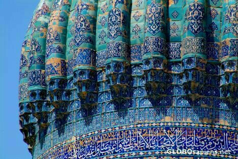The Silk Road: Samarkand beautiful architecture.