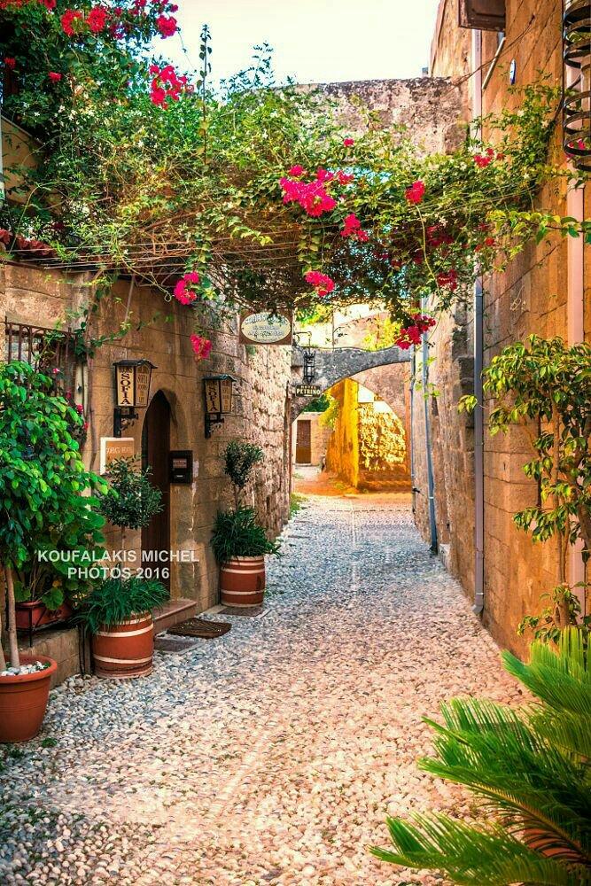Rodos, Greece. UNESCO European World Heritage Sites