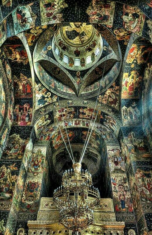 Galati church, Romania. UNESCO World European Heritage Sites