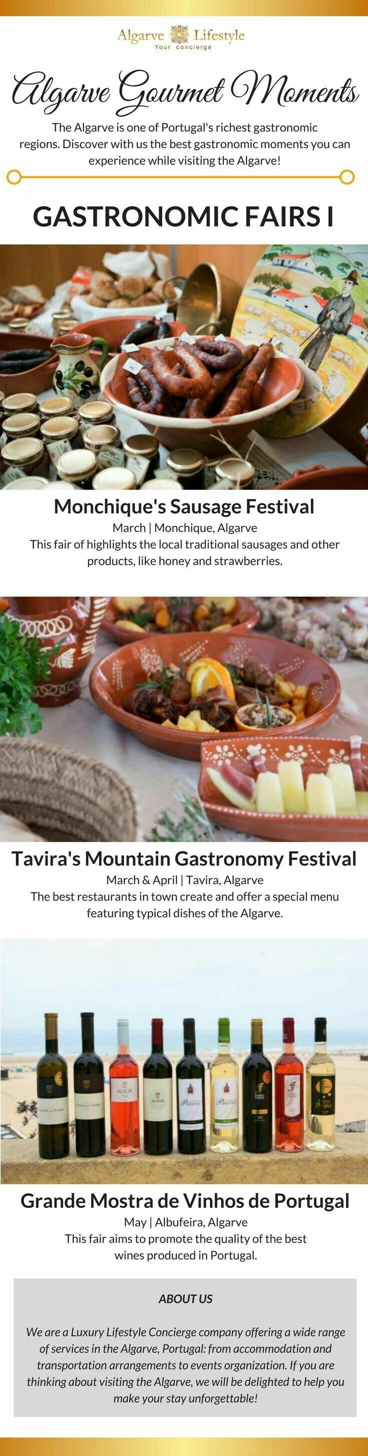 Gastronomic Fairs in Portugal